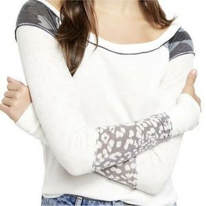 Free People Bright Side Thermal XS Snow Combo NEW